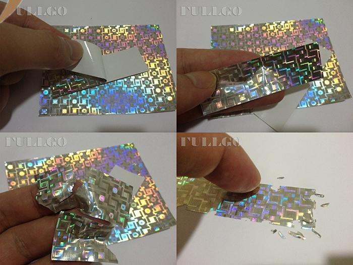 Eggshell Hologram Sticker